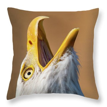 Woohoo Throw Pillow