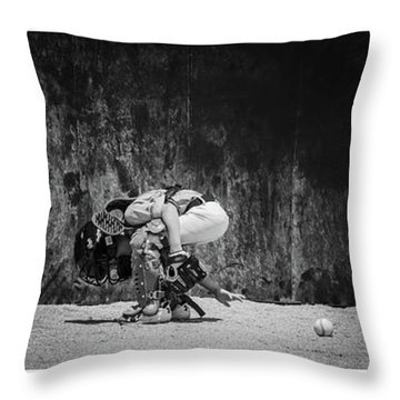 Working It Throw Pillow