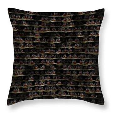 Worlds Within The Spin Throw Pillow