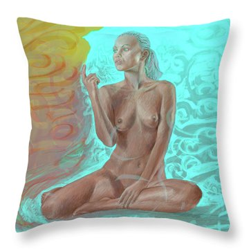 Worth Throw Pillow