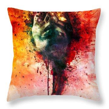 W.o.u.n.d.s Throw Pillow