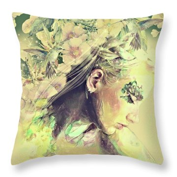 To Sleep And To Dream Throw Pillow