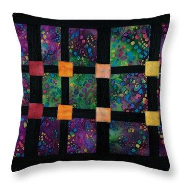 Xyla-nebula-phone Throw Pillow