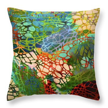 Xylem Throw Pillow