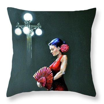 Ybor Beauty Throw Pillow