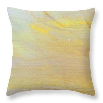 Yellow #2 Throw Pillow