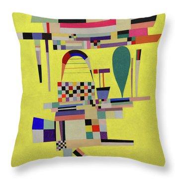 Yellow Painting - La Toile Jaune, 1938 Throw Pillow
