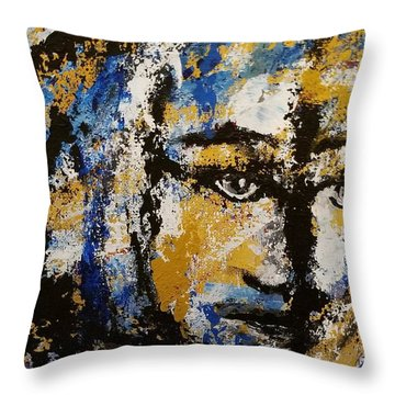 Yesterday Throw Pillow by Hilda Lechuga