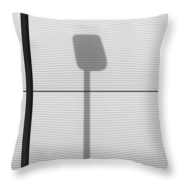 Yorkshire Abstract 3 Throw Pillow
