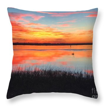 Throw Pillow featuring the photograph You Are Loved by LeeAnn Kendall