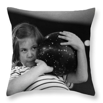Ten Pin Bowling Throw Pillows