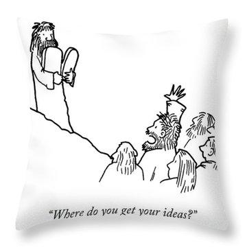 Your Ideas Throw Pillow