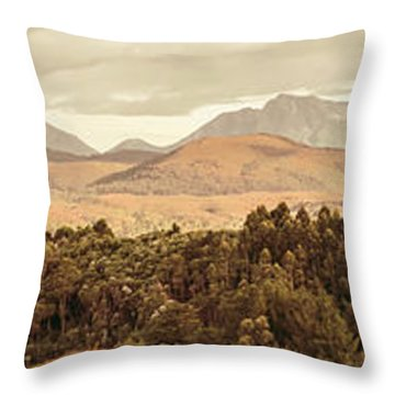 Zeehan And Beyond Throw Pillow