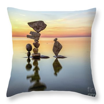 Zen Art Throw Pillow