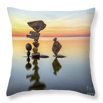 Zen Art Throw Pillow