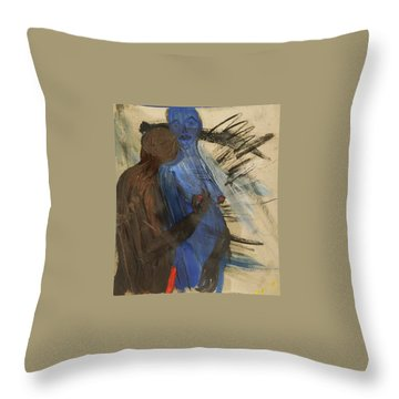 Zeus And His Thunderbolt Throw Pillow