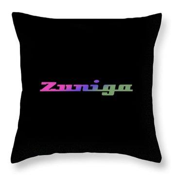Zuniga #zuniga Throw Pillow