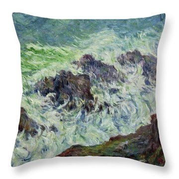 Heavy Weather Throw Pillow