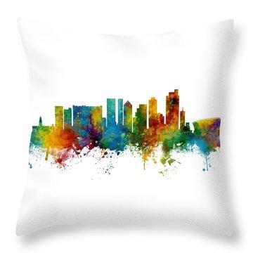 Cape Town Throw Pillows Fine Art America