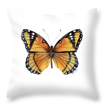 Monarch Butterfly Throw Pillows