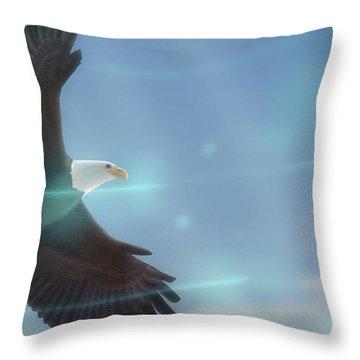 Bird of Freedom - Throw Pillow Product by Matthias Zegveld
