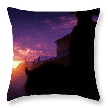 Distant Hope - Throw Pillow Product by Matthias Zegveld