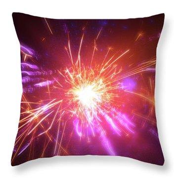 Explosion of Light - Throw Pillow Product by Matthias Zegveld