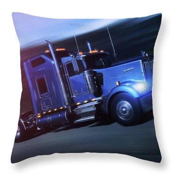 Good Old Truck - Throw Pillow Product by Matthias Zegveld