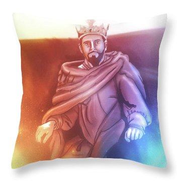 Great King David - Throw Pillow Product by Matthias Zegveld