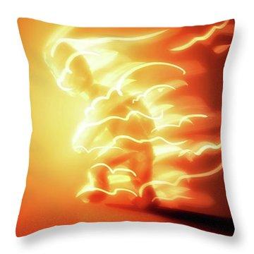 I'm on Fire - Throw Pillow Product by Matthias Zegveld