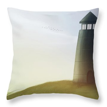 Strong Tower - Throw Pillow Product by Matthias Zegveld