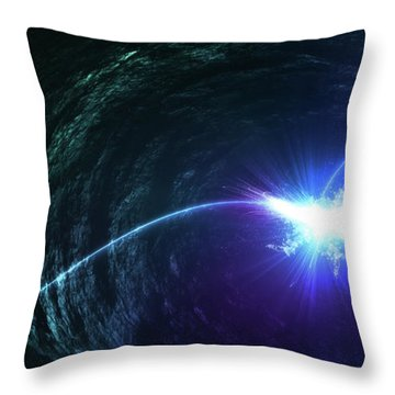 The Light in Me - Throw Pillow Product by Matthias Zegveld