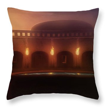 The Palace - Throw Pillow Product by Matthias Zegveld