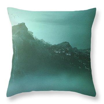 The Rock - Throw Pillow Product by Matthias Zegveld
