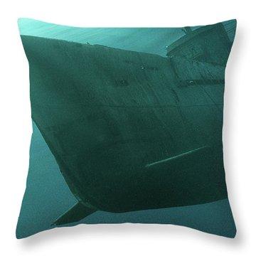 The Submarine - Throw Pillow Product by Matthias Zegveld
