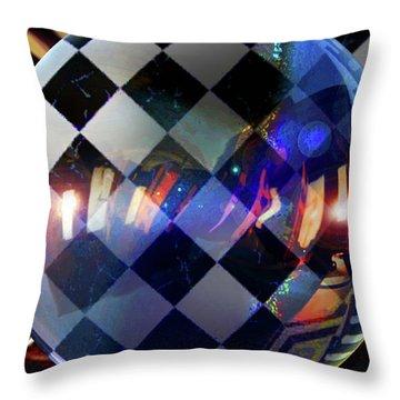 Checker Throw Pillows