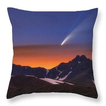 Neowise Throw Pillows