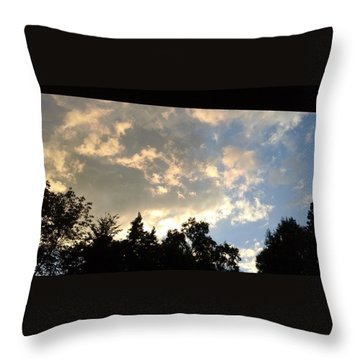 Blue Sky Throw Pillows