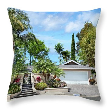 Laguna Niguel Throw Pillows Fine Art America