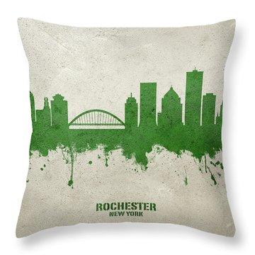 Rochester Throw Pillows Fine Art America
