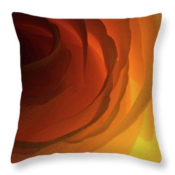Red Rose Throw Pillows Fine Art America