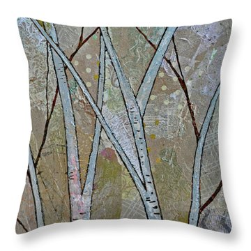 Birch Tree Throw Pillows Fine Art America