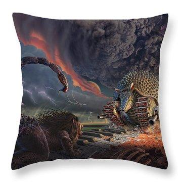 Battlefield Throw Pillows