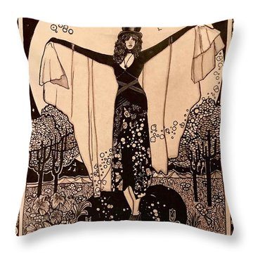 Wicca Throw Pillows