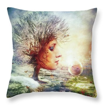 Mythology Throw Pillows