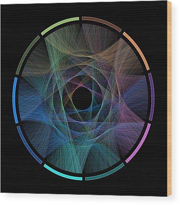 Data Visualization Wood Prints