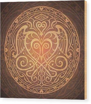 Ancient Wood Prints