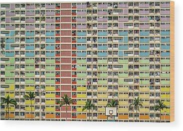 Hong Kong Wood Prints