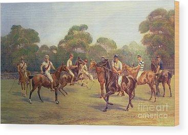 English Riding Wood Prints
