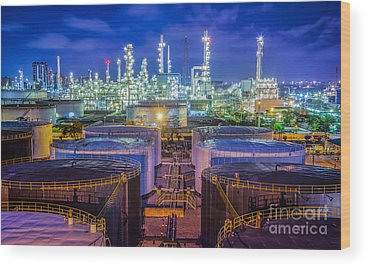 Petroleum Wood Prints